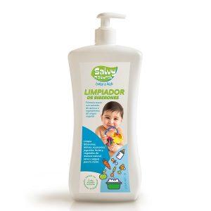 Limpiador de biberones y juguetes salvy natural
