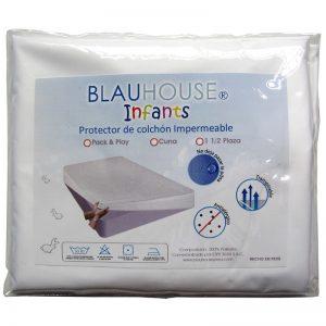 Protector de colchón Impermeable. No deja pasar líquidos al colchón