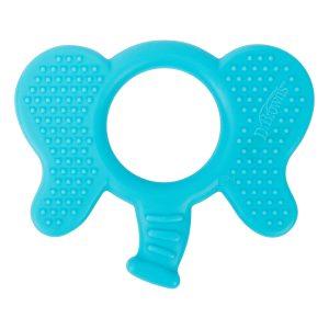 Flexees Friends mordedor con forma de Elefante Dr Brown's en 100% silicona