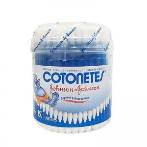 Hisopos Cotonetes Johnson's de 150 unidades
